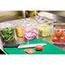 Rubbermaid® Commercial Cold Food Pans, 1 2/3qt, 6 3/8w x 6 7/8d x 4h, Clear Thumbnail 2
