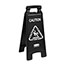 Rubbermaid® Commercial Executive 2-Sided Multi-Lingual Caution Sign, Black/White, 10 9/10 x 26 1/10 Thumbnail 3