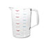 Rubbermaid® Commercial Bouncer Measuring Cup, 4qt, Clear Thumbnail 3