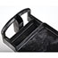 Rubbermaid® Commercial Heavy-Duty Utility Cart, Two-Shelf, 17-1/8w x 38-1/2d x 38-7/8h, Black Thumbnail 2