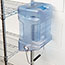 Rubbermaid® Commercial Ice Tote, 5.5gal, Blue, With Hook Assembly Thumbnail 3