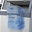 Rubbermaid® Commercial Ice Tote, 5.5gal, Blue, With Hook Assembly Thumbnail 2