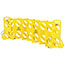 """Rubbermaid® Commercial Portable Mobile Safety Barrier, Plastic, 13ft x 40"""", Yellow Thumbnail 3"""