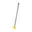 Rubbermaid® Commercial Invader Fiberglass Side-Gate Wet-Mop Handle, 1 dia x 60, Gray/Yellow Thumbnail 2