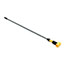 Rubbermaid® Commercial Gripper Aluminum Mop Handle, 1 1/8 dia x 60, Gray/Yellow Thumbnail 2
