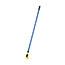 "Rubbermaid® Commercial Gripper Fiberglass Mop Handle, 60"", Blue/Yellow Thumbnail 2"