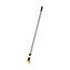 Rubbermaid® Commercial Fiberglass Gripper Mop Handle, Yellow/Gray Thumbnail 2