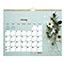 "Blueline® Romantic Monthly Wall Calendar, 8"" x 11"", Classic Floral Design, 2021 Thumbnail 1"