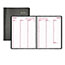 """Brownline® Weekly Appointment Book, 11"""" x 8 1/2"""", Black, 2022 Thumbnail 1"""