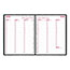 """Brownline® Weekly Appointment Book, 11"""" x 8 1/2"""", Black, 2022 Thumbnail 3"""