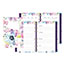 """Blueline® MiracleBind™ Passion, Weekly/Monthly Planner, 8"""" x 5"""", Delicate Floral Design, 2021 Thumbnail 1"""