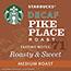 Starbucks® Whole Bean Coffee, Decaf Pike Place Roast, 1 lb Bag Thumbnail 3