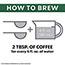 Starbucks® Coffee, French Roast, 2.5oz Bag, 18 Bags/Box Thumbnail 3