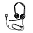 Sennheiser CC 550 IP Headset - Stereo - Quick Disconnect - Wired - 180 Ohm - 150 Hz - 6.80 kHz - Over-the-head - Binaural - Semi-open - 3.28 ft Cable Thumbnail 1
