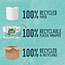 Seventh Generation® 100% Recycled Bathroom Tissue, 2-Ply, White, 240 Sheets/Roll, 12/Pack Thumbnail 3