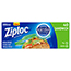 Ziploc® Resealable Sandwich Bags, 6 1/2 x 5 7/8, 1.2 mil, Clear, 40/BX, 12 BX/CT Thumbnail 1