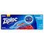 Ziploc® Double Zipper Freezer Bags, 9 3/5 x 12 1/10, 1 gal, 2.7mil, 28/BX, 9 BX/Carton Thumbnail 1