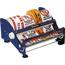 """Tape Logic® Table Top Label Dispenser, 12"""", Blue Thumbnail 1"""