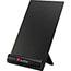 Smead® Justick Frameless Electro-Surface Desktop Organizer & Copyholder, Black, 8 x 11, EA Thumbnail 2