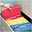 Smead® Interior File Folders, 1/3 Cut Top Tab, Letter, Black, 100/Box Thumbnail 3