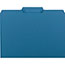 Smead® Interior File Folders, 1/3 Cut Top Tab, Letter, Sky Blue, 100/Box Thumbnail 2