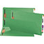 Smead® Two-Inch Capacity Fastener Folders, Straight Tab, Legal, Green, 50/Box Thumbnail 2
