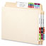 Smead® Alpha-Z Color-Coded Second Letter Labels, Letter D, Light Blue, 500/BX Thumbnail 2