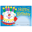 "TREND® Recognition Awards, Happy Birthday Cake, 8 1/2"" w x 5 1/2"" h Thumbnail 1"
