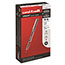 uni-ball® Vision Roller Ball Stick Waterproof Pen, Red Ink, Fine, Dozen Thumbnail 1