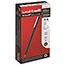 uni-ball® Roller Ball Stick Dye-Based Pen, Blue Ink, Micro, Dozen Thumbnail 1