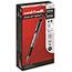 uni-ball® Gel Impact™ Rollerball Stick Pens, Bold Point, Black Ink, Dozen Thumbnail 1