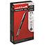 uni-ball® VISION ELITE Roller Ball Stick Waterproof Pen, Black Ink, Super Fine Thumbnail 1