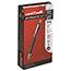 uni-ball® Jetstream™ RT Retractable Rollerball Pens, Bold Point, Black Ink, Dozen Thumbnail 1