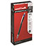 uni-ball® Jetstream™ RT Retractable Rollerball Pens, Bold Point, Blue Ink, Dozen Thumbnail 1