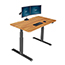 "Vari® Electric Standing Desk, 60"" x 30"", Butcher Block Thumbnail 1"