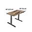 "Vari® Electric Standing Desk, 48"" x 30"", Reclaimed Wood Thumbnail 4"