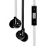 Veho Veho 360 Degree Z-2 Earbuds - Black/White - Stereo - Mini-phone - Wired - Binaural - In-ear - 3.94 ft Cable Thumbnail 1