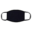 W.B. Mason Co. Reusable Cotton Face Mask, 3-Ply, Black, 5/PK Thumbnail 2