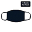 W.B. Mason Co. Multi-Layered, Cloth Face Masks, Navy, 5/PK Thumbnail 2
