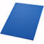 "Winco® Cutting Board, 18"" x 24"" x 1/2"", Blue Thumbnail 1"