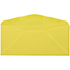 "JAM Paper #9 Business Colored Envelopes, 3 7/8"" x 8 7/8"", Ultra Lemon, 500/BX Thumbnail 2"