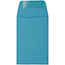 """JAM Paper #1 Coin Business Colored Envelopes, 2 1/4"""" x 3 1/2"""", Blue Recycled, 500/PK Thumbnail 2"""