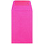 """JAM Paper #1 Coin Business Colored Envelopes, 2 1/4"""" x 3 1/2"""", Ultra Fuchsia Pink, 500/PK Thumbnail 2"""