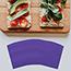 """JAM Paper Small Beverage Napkins, 5"""" x 5"""", Purple, 250/PK Thumbnail 2"""