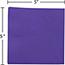 """JAM Paper Small Beverage Napkins, 5"""" x 5"""", Purple, 250/PK Thumbnail 3"""