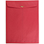 """JAM Paper Open End Catalog Colored Envelopes with Clasp Closure, 10"""" x 13"""", Red Recycled, 100/BX Thumbnail 2"""