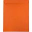 "JAM Paper Open End Catalog Colored Envelopes, 10"" x 13"", Orange Recycled, 100/BX Thumbnail 1"