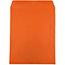 "JAM Paper Open End Catalog Colored Envelopes, 10"" x 13"", Orange Recycled, 100/BX Thumbnail 2"