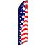 W.B. Mason Auto Supplies Swooper Banner, American Flag 21 Stars Thumbnail 1