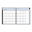 """Blue Sky™ Passages Monthly Wirebound Planner, 8"""" x 10"""", Charcoal, 2021 Thumbnail 2"""